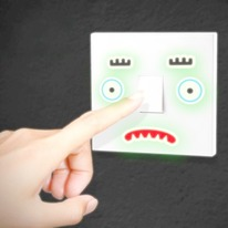 Glow In the Dark Mood Lighting Light Switch Stickers