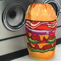 Hamburger Hamper Dirty Washing Bag
