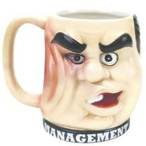 Management Super Punchout Mug