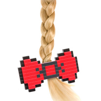 Pretty 8-Bit Hair Bow