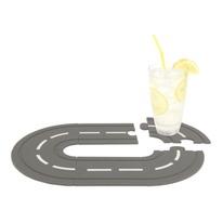 Race Track Speedway Interlocking Coasters