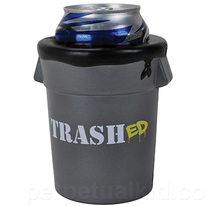 Trashed Garbage Can Koozie Drink Can Holder