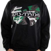 Wu Tang Clan Sweatshirt - Camo Logo