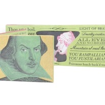 Incredible Shakespeare Insults Wallet