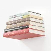 Steel Floating Conceal Bookshelf
