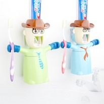 Warriors AutomaticToothpaste Dispenser & Holder