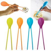 Chopsticks And Soup Spoon In One