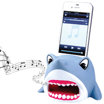 Shark iPhone Stand with Powerless Amplifier