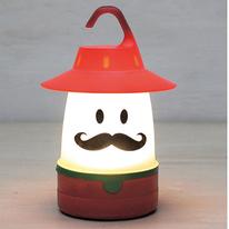 Mustached Camping Yodeler Lantern