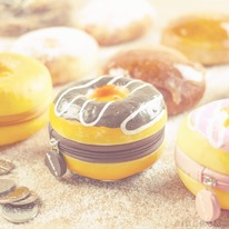 Sweet Scented Doughnut Coin Wallet