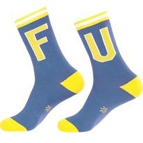 fu unisex crew socks