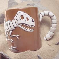 Jurassic Fossil Coffee Mug