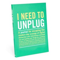 I Need to Unplug Guided Journal - Technology-Free Journal Cover