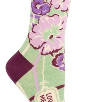 Love Ya, Mean It Printed Women's Crew Socks