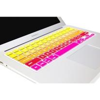 Mac Keyboard Cover Colorful Flapjacks Tequila Sunrise