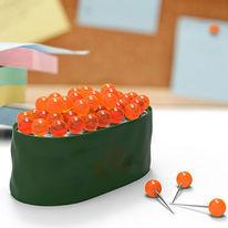 Maki Tacks Sushi Modern Pushpins