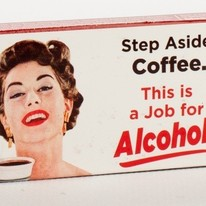 Step Aside Coffee, This Is A Job For Alcohol Gum