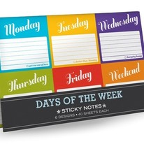 Days of the Week Sticky Note Packet
