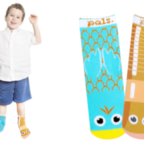 Kids Bird & Worm Pals Socks