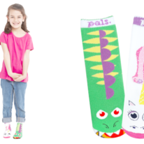 Kids Dragon & Unicorn Pals Socks