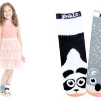Kids Panda & Koala Pals Socks