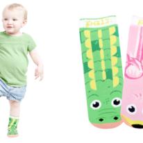 Kids Toddlers Alligator & Flamingo Pals Socks