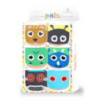 Kids Toddlers Mighty Mates Pals Socks: 3-Pack Gift Box