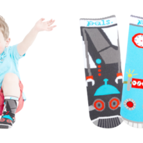 Kids Toddlers Space Robot & Earth Robot Pals Socks