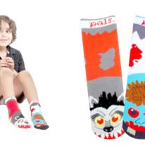 Kids Werewolf & Zombie Pals Socks