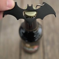 Batman Logo Bottle Opener Multi-Tool
