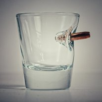 Bulletproof Drinking Shot Glass