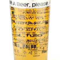 How To Order a Beer in 25 Languages: Beer Pint Glass