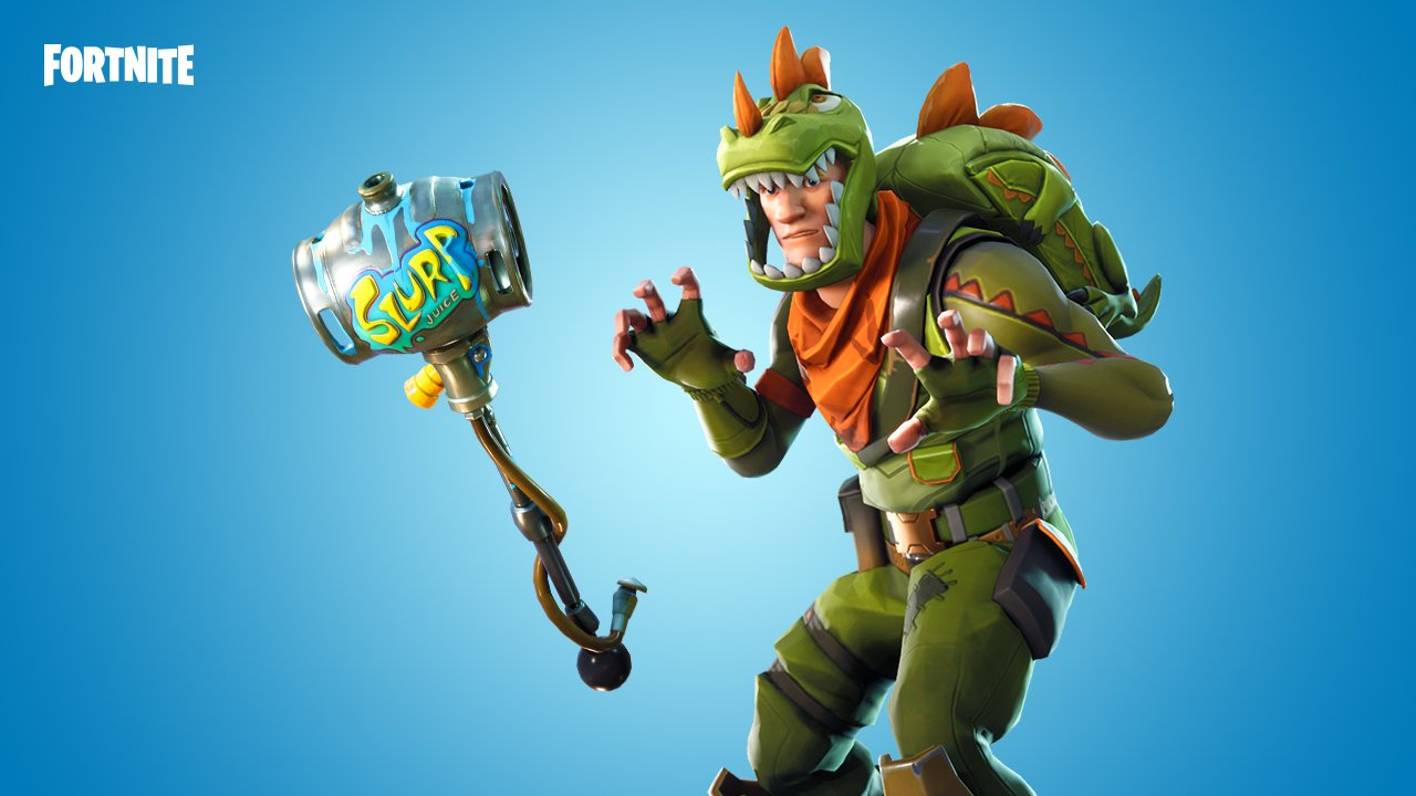 If you didn 39 t play fortnite before a dinosaur rex outfit might be the right price - Rex from fortnite ...