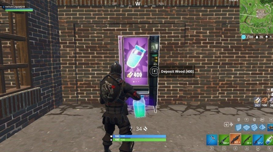 Fortnite Vending Machine Locations Where To Find Them