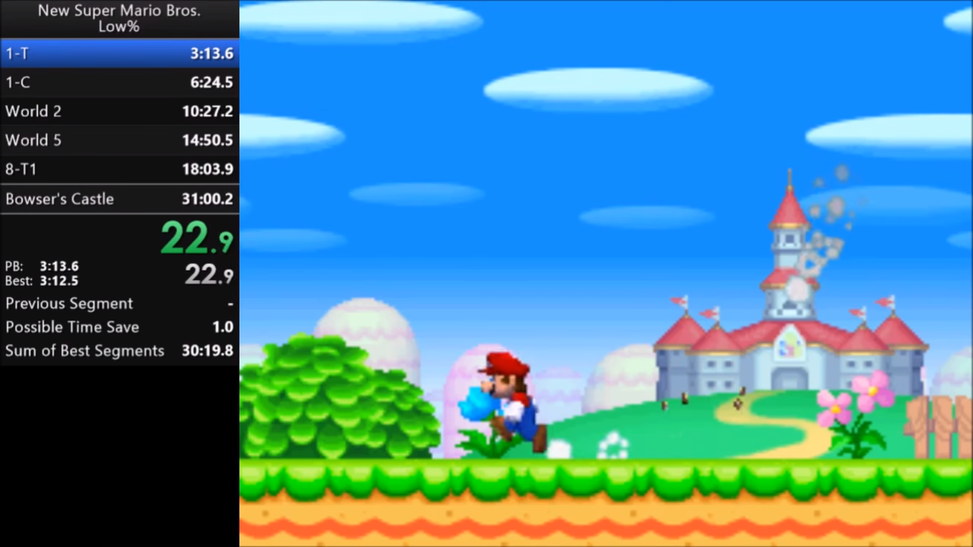 Speedrunner Runs New Super Mario Bros  In Record Time With No Power Ups