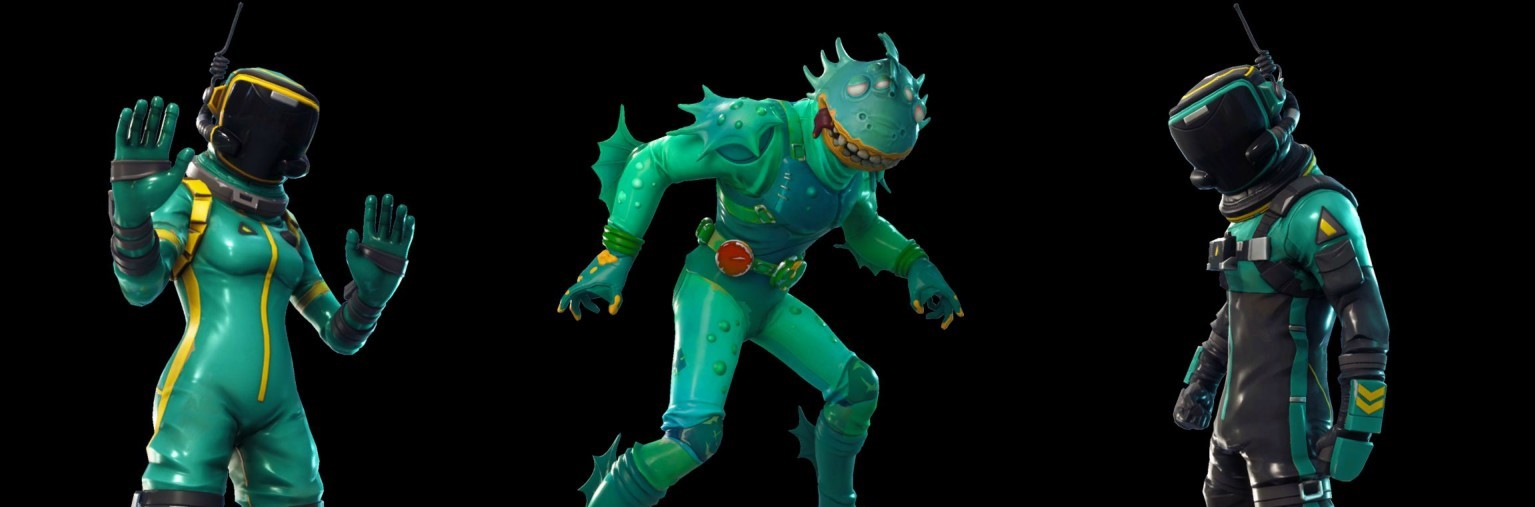 Fortnite Moisty Merman Skin and Yeet Emote Leaked In Latest Update