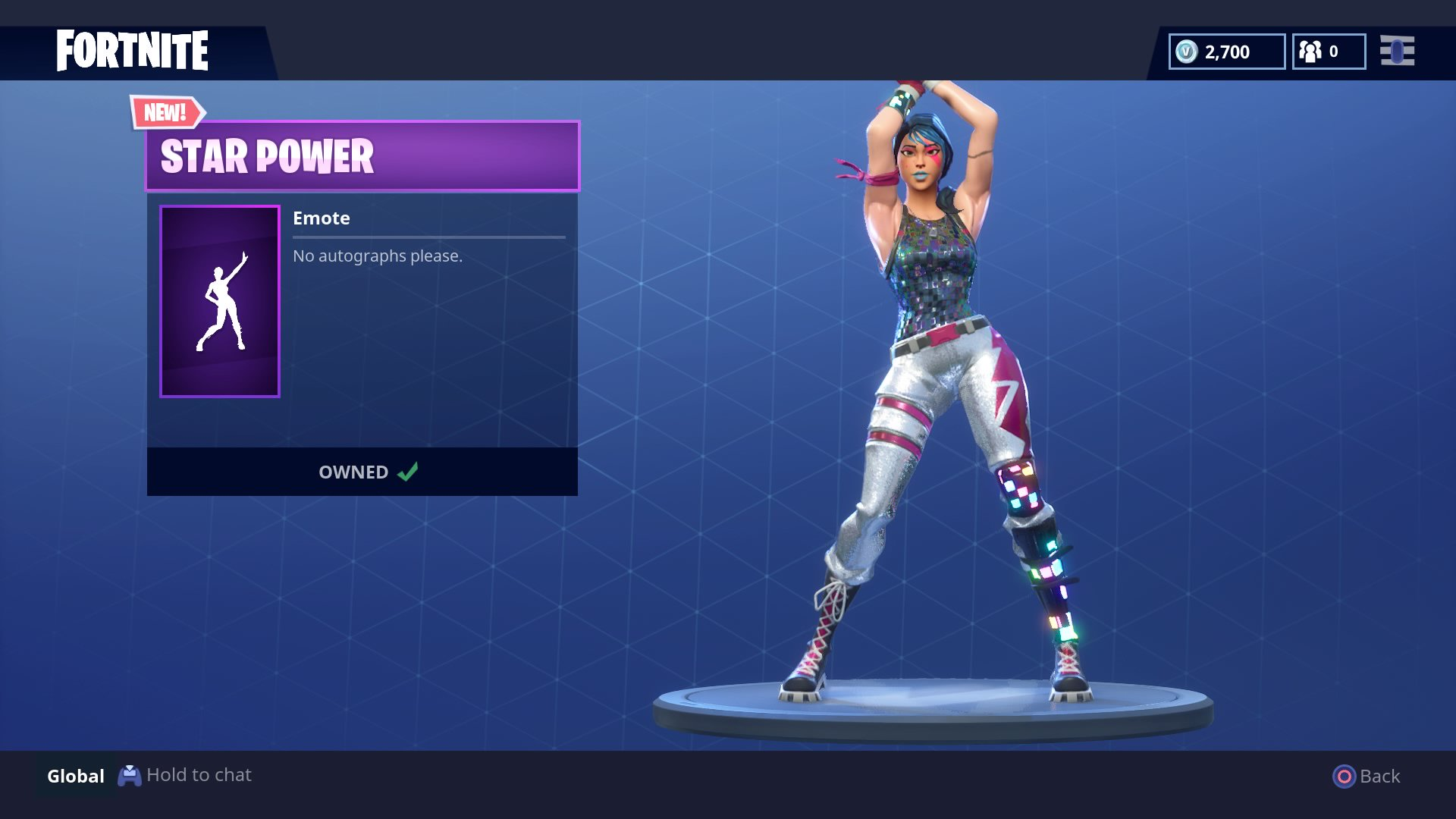 Fortnite Star Power Dance Emote Now Available In The Store