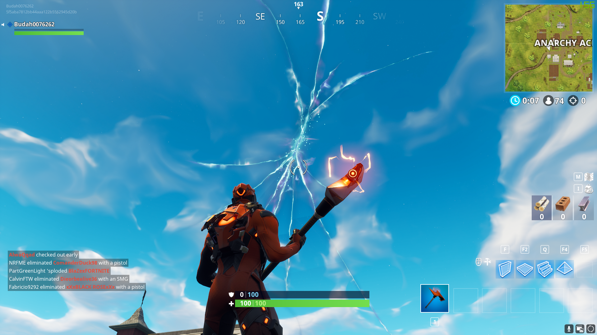 What Happened in Fortnite Today? Rocket Launch Cracks Sky ...