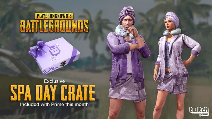 Link PUBG to Twitch For Spa Day Crate Loot With Prime