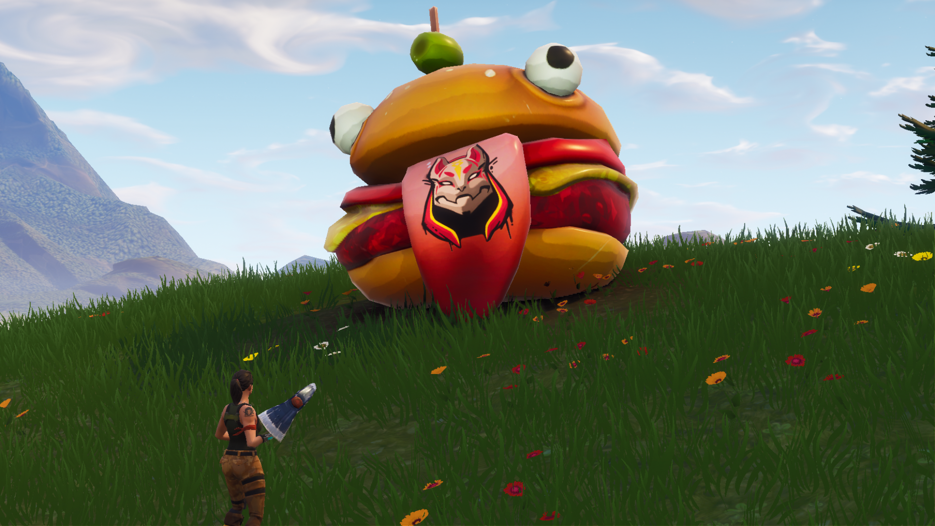 Durr Burger Skin and More Leaked from Fortnite V5 2 Files