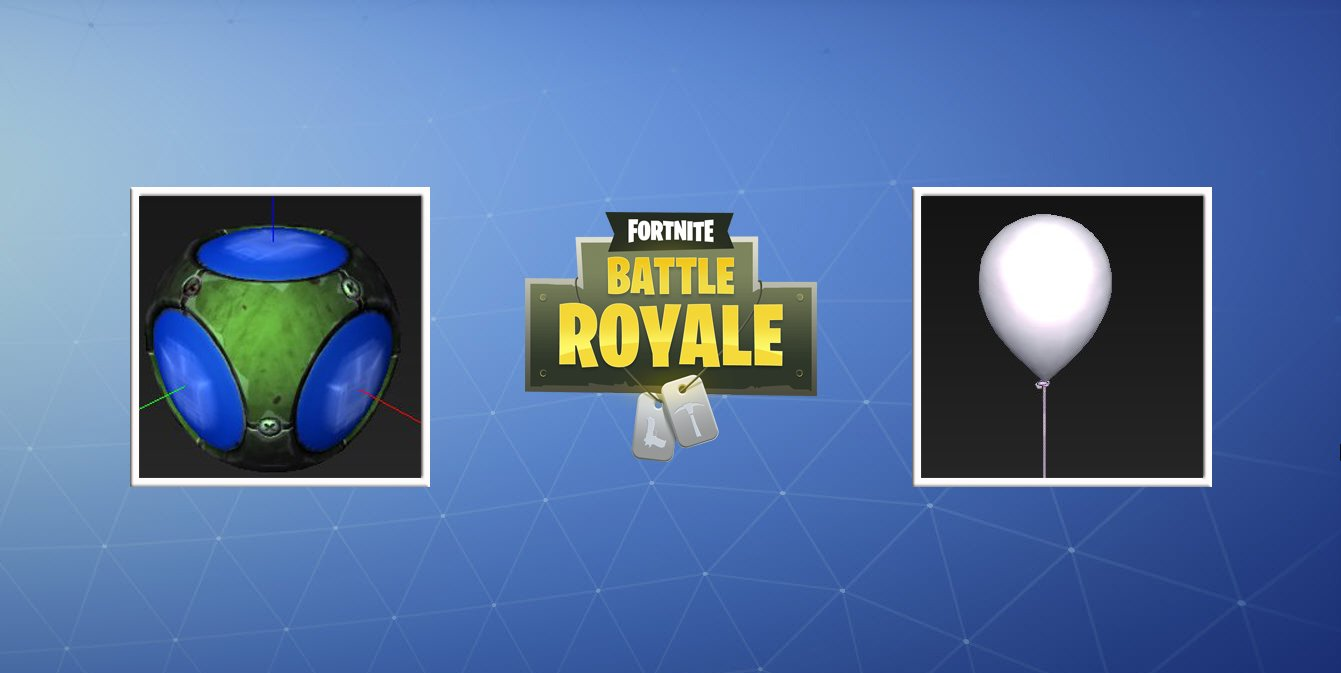 Fortnite Balloon Consumable And Spike Arena Grenade Leaked In V5 40