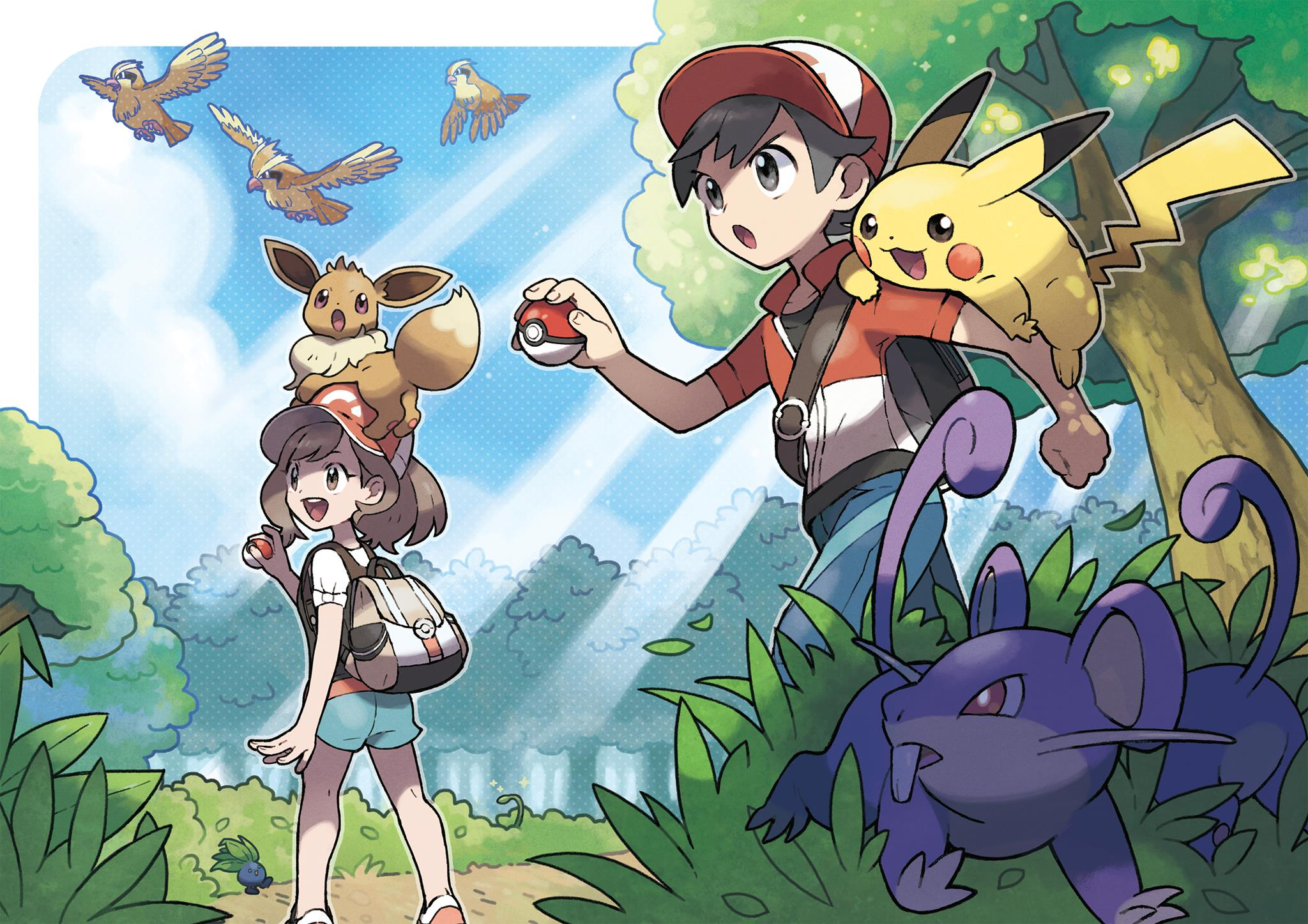 how faithful is pokemon lets go pikachu eevee to the series