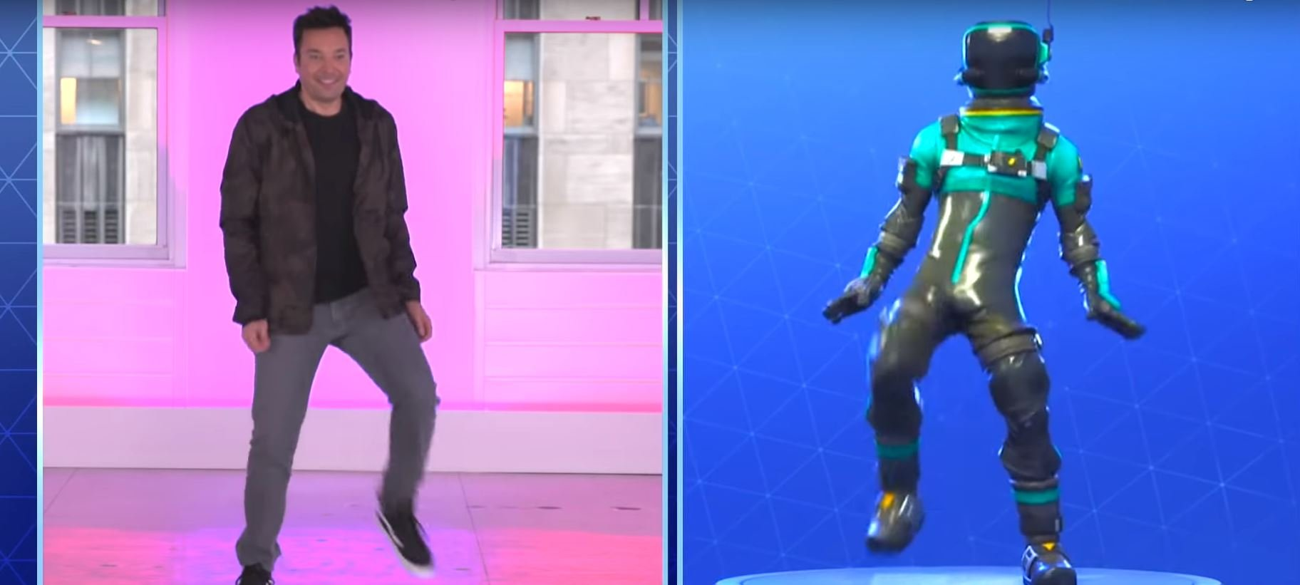 Jimmy Fallon Gets Into The Fortnite Groove With South Korean Boy