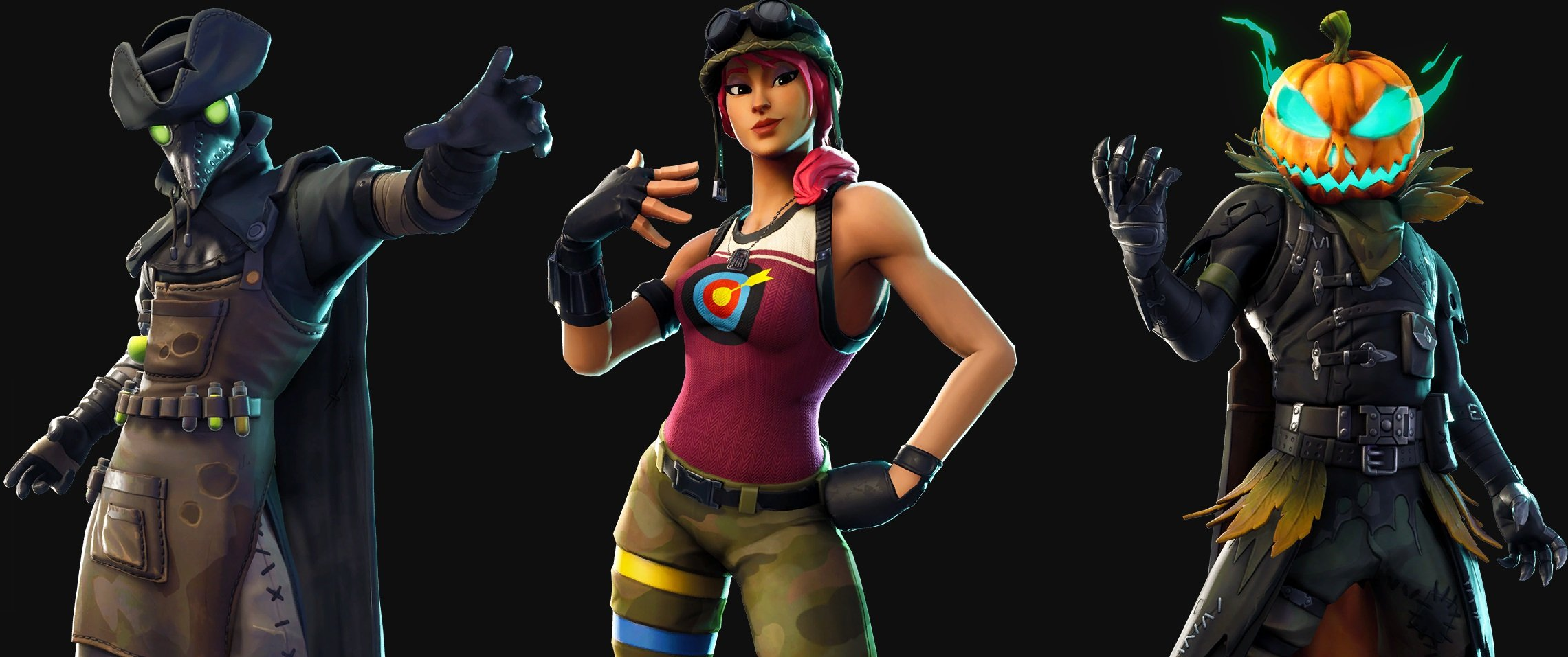 Fortnite Leaked Skins Include Plague Doctor Amp Hollowhead