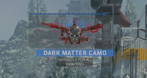 World's First Call of Duty: Black Ops 4 Dark Matter Camo Has Been