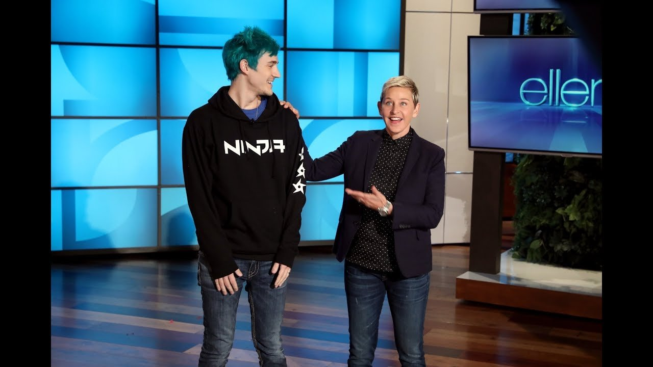Watch Ninja and Ellen DeGeneres Charity Stream Live - twitch