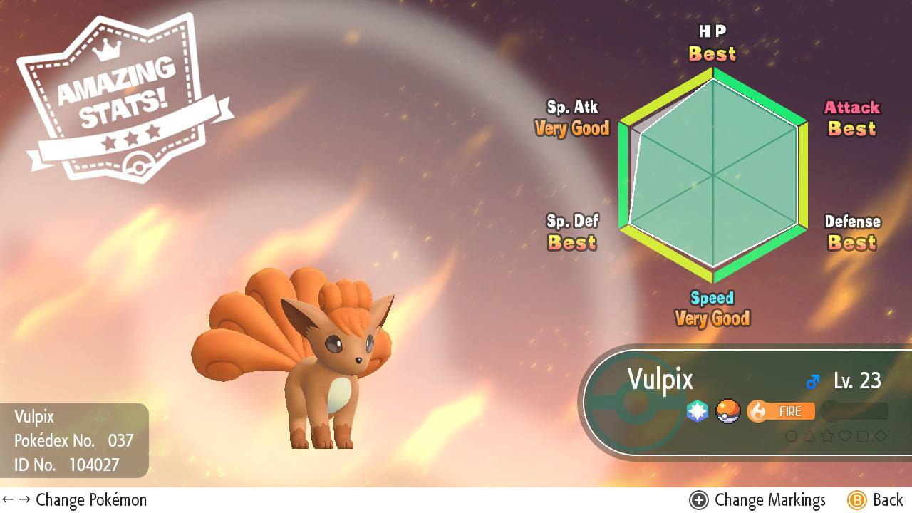 How to Check IVs in Pokemon Let's Go