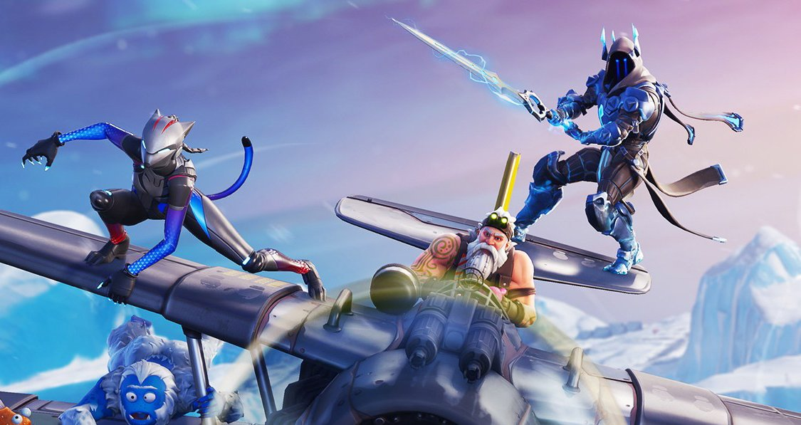 Fortnite Sword And Plane Gameplay Is A Problem In Na Winter Royale