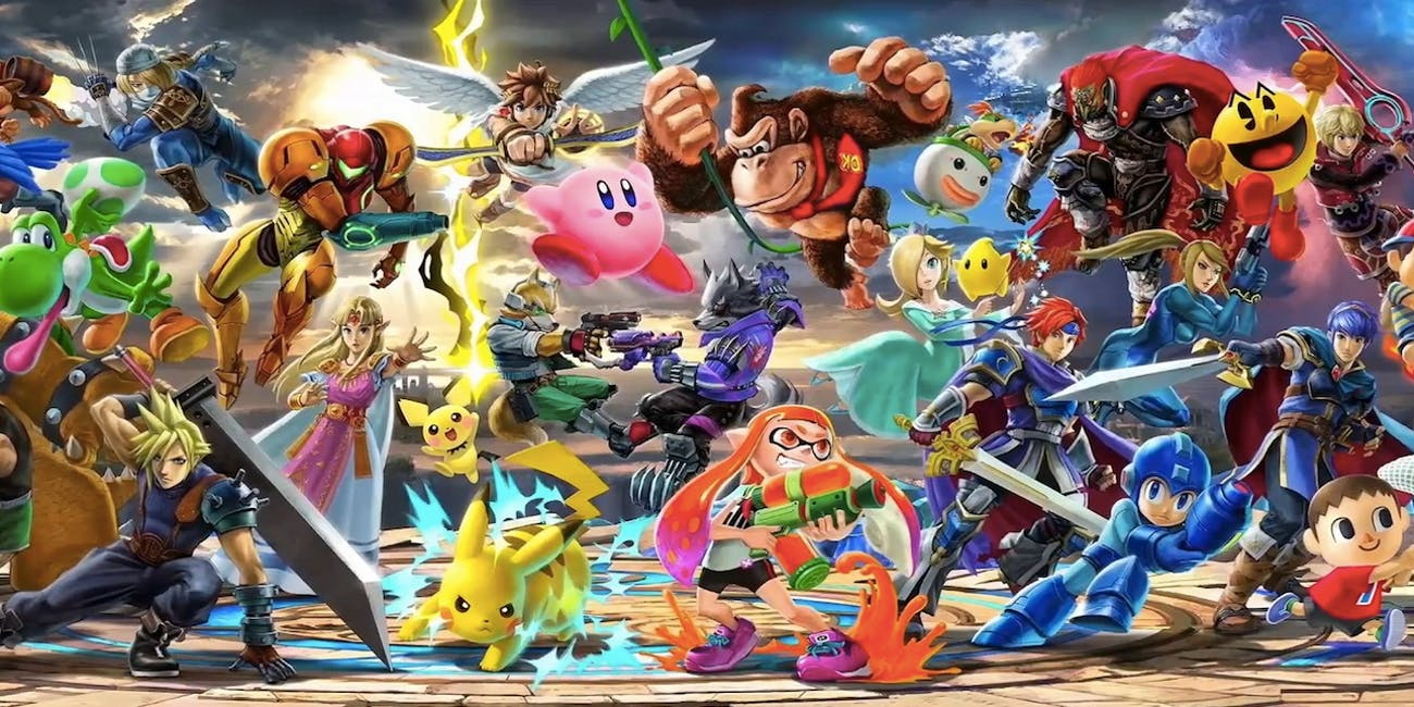 Possible Leaked Super Smash Bros Character Screen Reveals – Dibujos