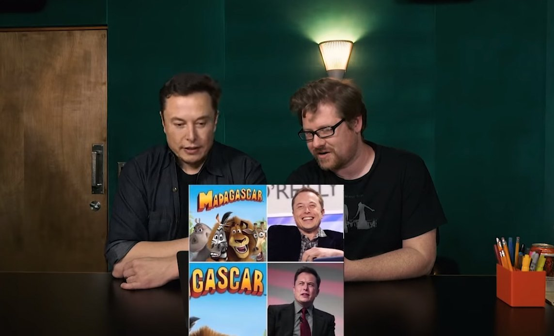 Elon Musk Hosts PewDiePie Meme Review With Justin Roiland